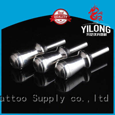 Yilong New stainless steel tattoo grips supply for tattoo machine