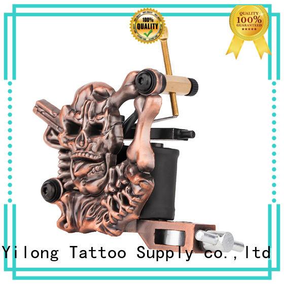skull tattoo machine suppliers for tattoo machine Yilong