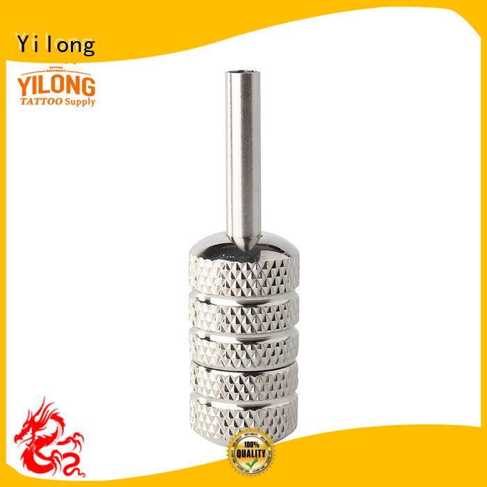 Yilong steel tattoo needle grip for sale with autoclave
