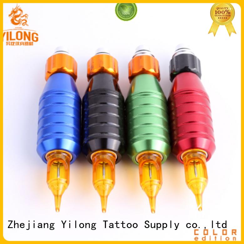 Yilong aluminium aluminum grips for business for tattoo machine