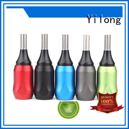 Yilong comfortable nylon tattoo grips for tattoo