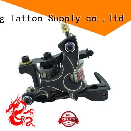 Yilong carving hand built tattoo machine for tattoo machine