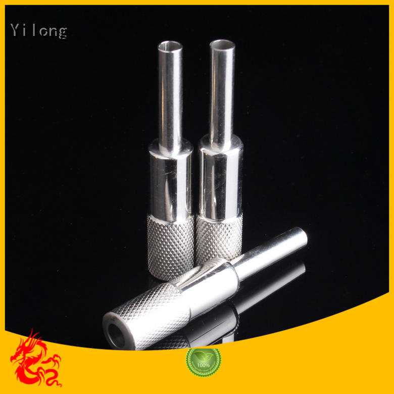 Yilong Custom tattoo needle grip supply for tattoo machine grip
