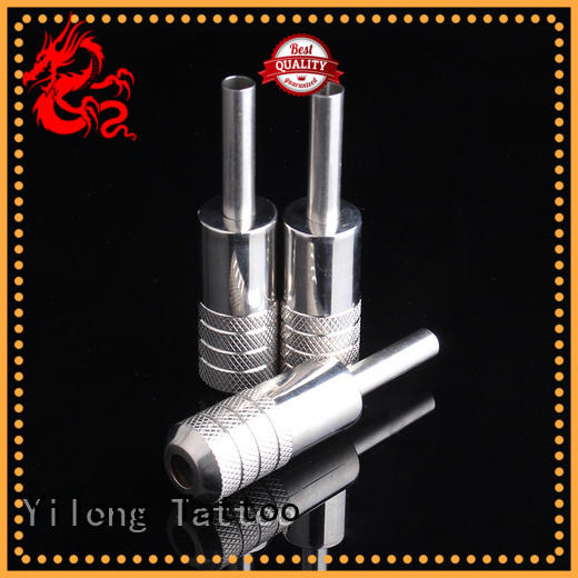 Yilong tubes stainless steel grip for sale for tattoo machine