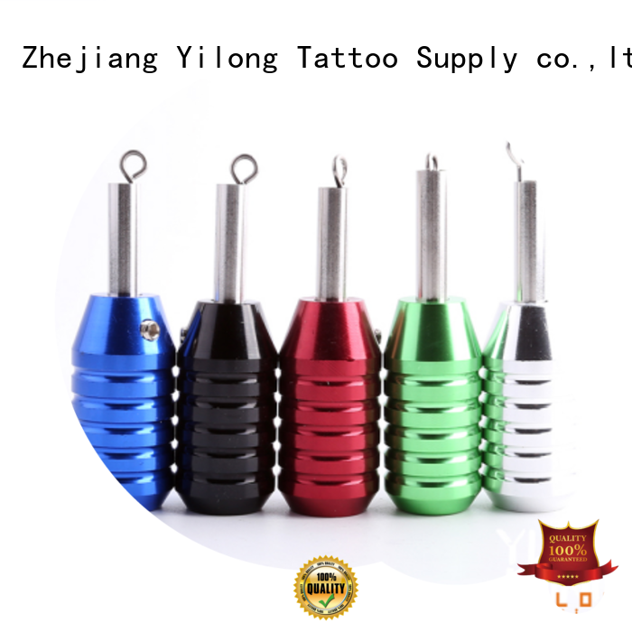 Yilong adjustable aluminum grips company for tattoo machine grip