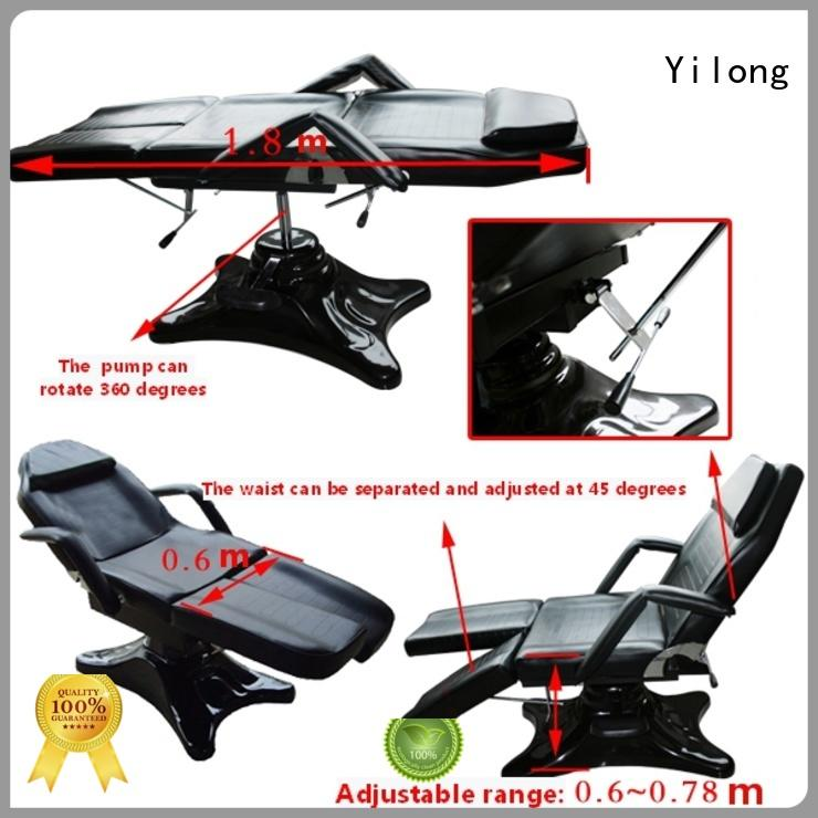 Yilong light weight professional tattoo chair for tattoo