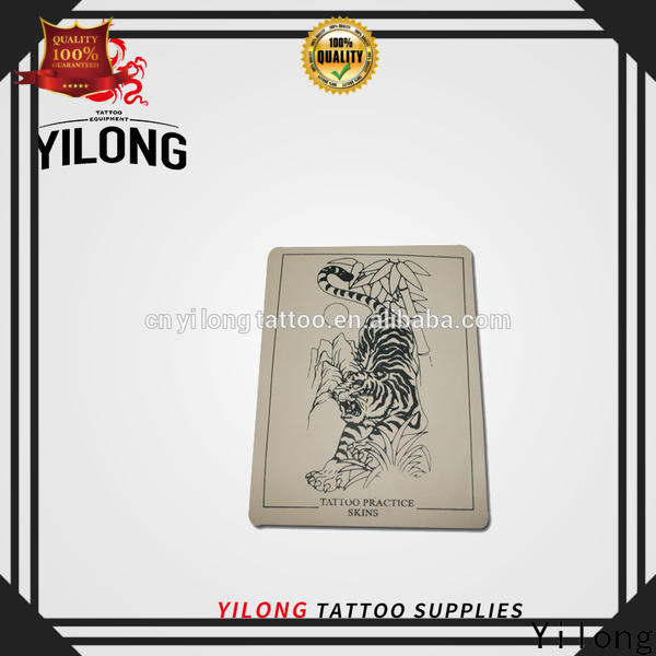 Yilong capmedium tattoo machine accessories manufacturers with autoclave