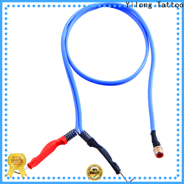 Yilong rotary tattoo power supply cord factory for tattoo power supply