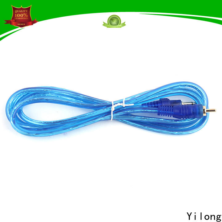 Yilong Wholesale tattoo gun power cord for sale for adjustable top clip