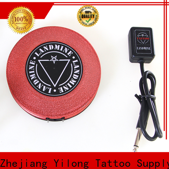 Yilong Latest tattoo pedal manufacturers for tattoo machine