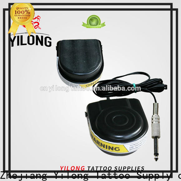 Yilong New tattoo pedal for sale for tattoo power supply