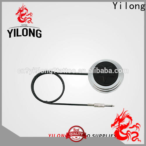 Yilong Best homemade tattoo foot pedal factory for tattoo