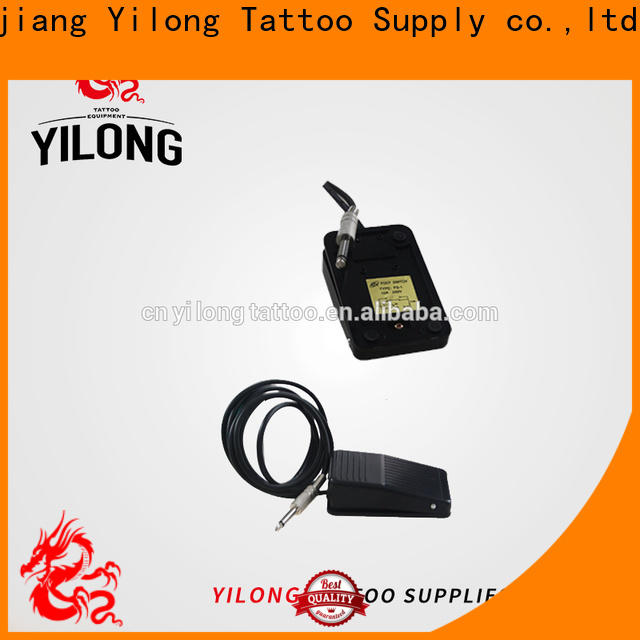 Yilong power custom tattoo foot pedal manufacturers for tattoo machine
