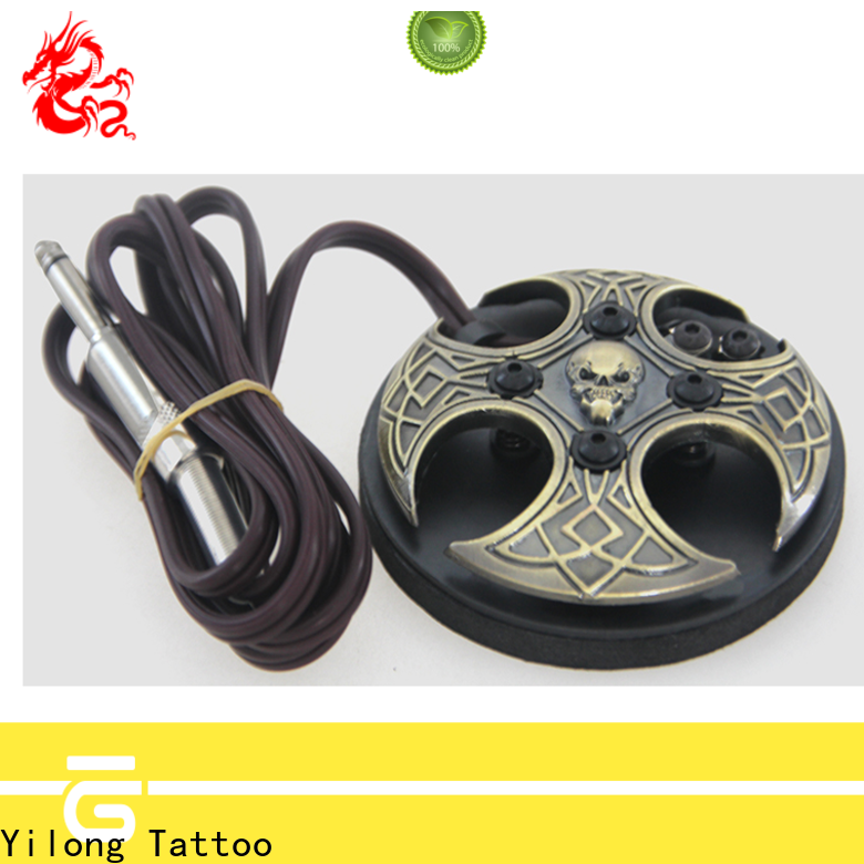 Yilong Latest tattoo gun pedal factory for tattoo