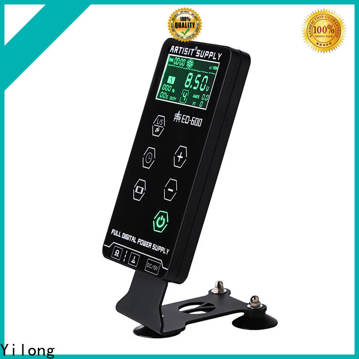 Yilong metal Power Supply for sale for tattoo guns