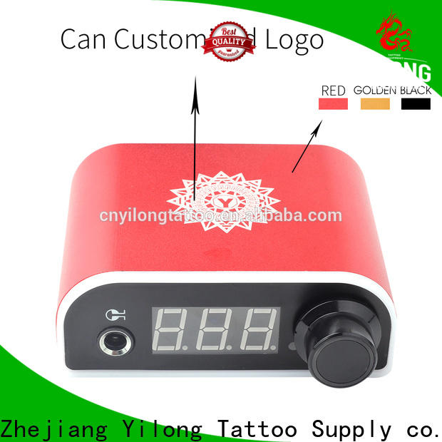 Yilong metal Power Supply suppliers for tattoo guns