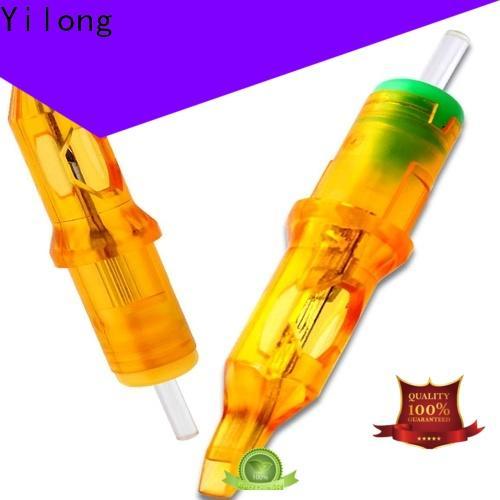 Custom best tattoo needles yellow for business for tattoo machine