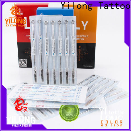 Yilong Latest tattoo disposable needles for business for tattoo machine