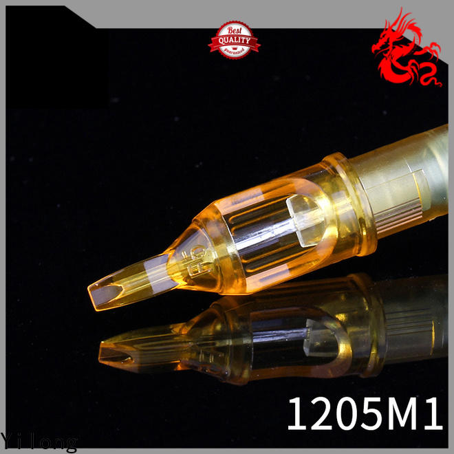 Yilong ink best tattoo needles supply for tattoo machine