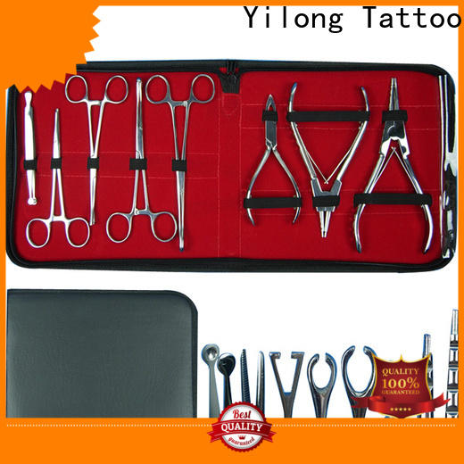 Yilong 316l piercing needle factory for tattoo machine grip