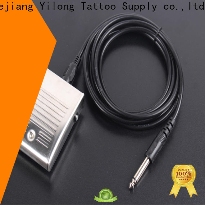 Yilong pedal tattoo pedal suppliers for tattoo power supply