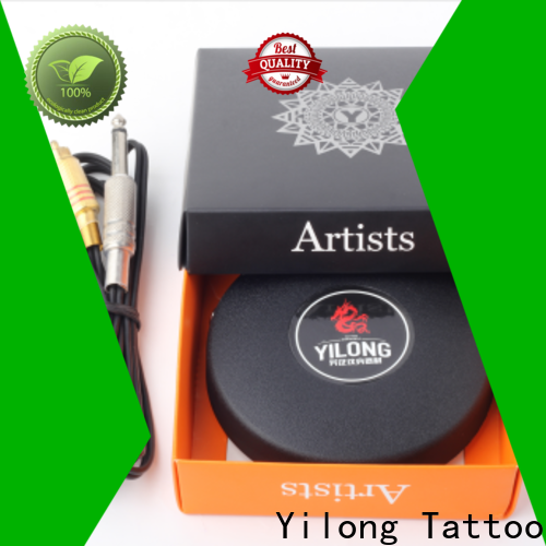 Yilong sails custom tattoo foot pedal supply for tattoo power supply