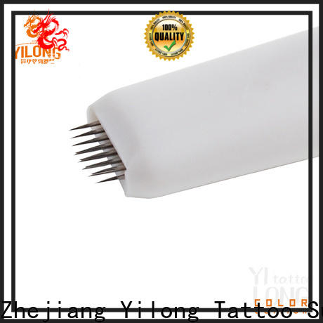 Yilong New eyebrow needles for sale for wired eyebrows